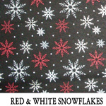 Red & White Snowflakes