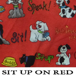 Sit Up On Red