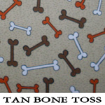 Tan Bone Toss