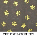 Yellow Pawprints