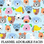 Flannel Adorable Faces