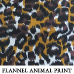 Flannel Animal Print