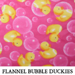 Flannel Bubble Duckies