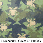 Flannel Camo Frog