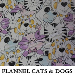 Flannel Cats & Dogs