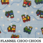 Flannel Choo Choos