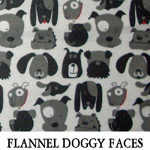 Flannel Doggy Faces
