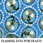 Flannel Dog Portraits