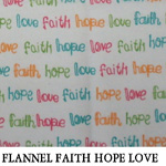 Flannel Faith Hope Love