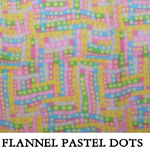 Flannel Pastel Dots
