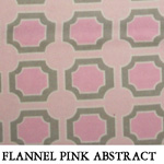 Flannel Pink Abstract