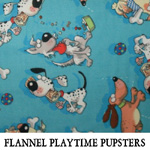 Flannel Playtime Pupsters