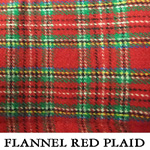 Flannel Red Plaid..TWO M