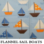 Flannel Sail Boats