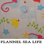 Flannel Sea Life