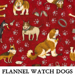 Flannel Watch Dogs