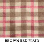 Brown Red Plaid