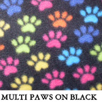 Multi Paws on Black