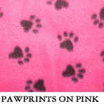 Pawprints on Pink