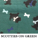 Scotties on Green