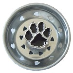 Black Paw Sink Strainer