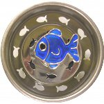 Blue Fish Sink Strainer