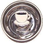 Coffee Cup Sink Strainer