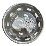 Gray Cat Sink Strainer