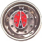 Lady Bug Sink Strainer