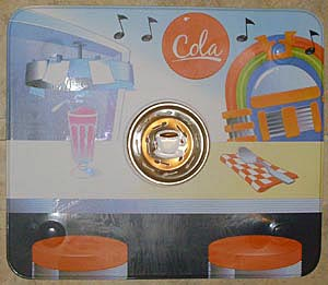 50's Diner Mat & Coffee Cup Strainer